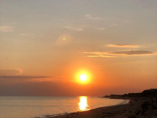 I tramonti che fanno bene al cuore.